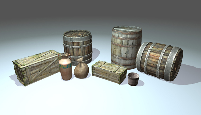 Medieval Container Pack Pro