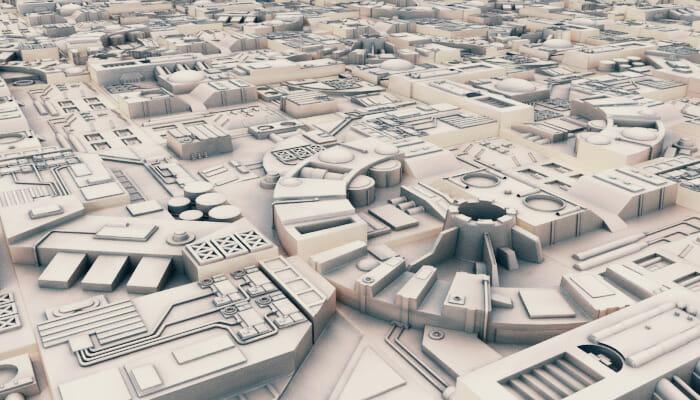 Sci-Fi Landscape Construction Kit