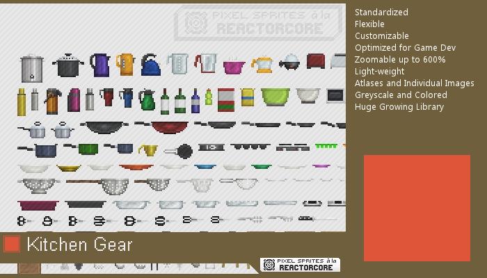 PSRC: Kitchen Gear