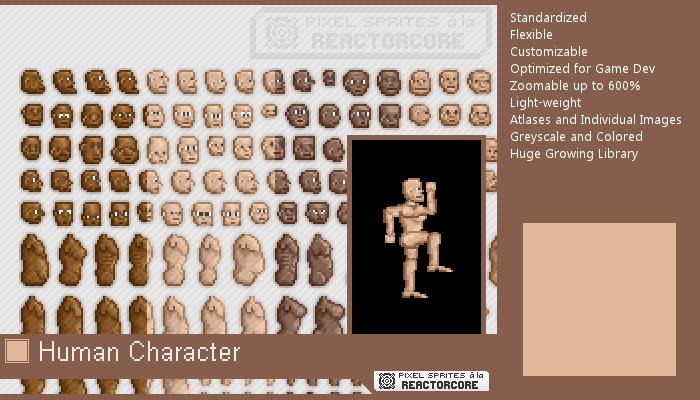 PSRC: Human Character