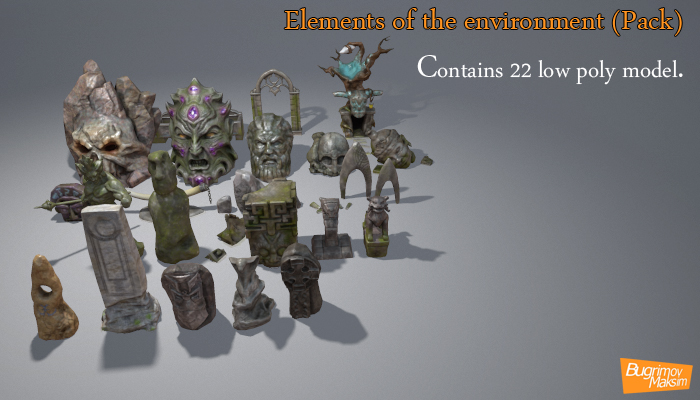 Elements of the environment Pack