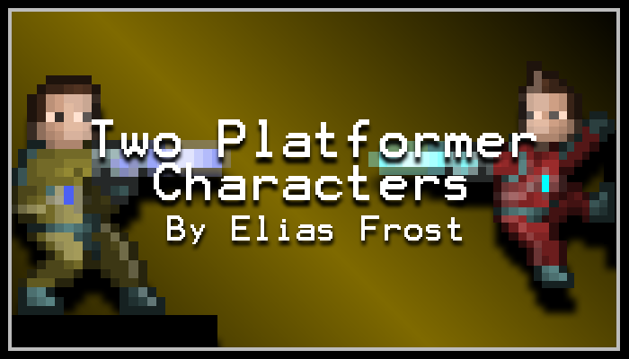 Two Platformer Characters