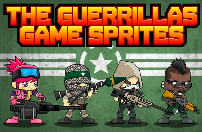 The Guerrillas – Game Sprites