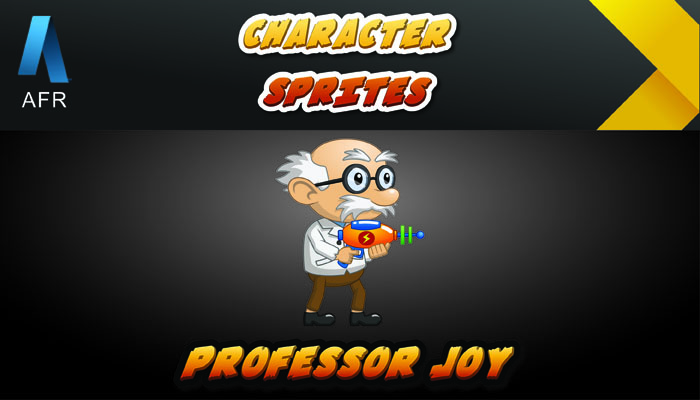AFR Character Sprites – Professor Joy