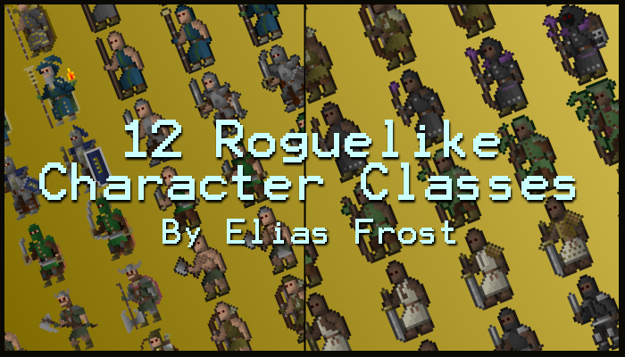 12 Roguelike Character Classes
