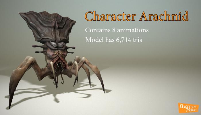 Character Arachnid