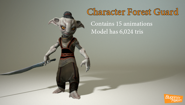 Character Forest Guard
