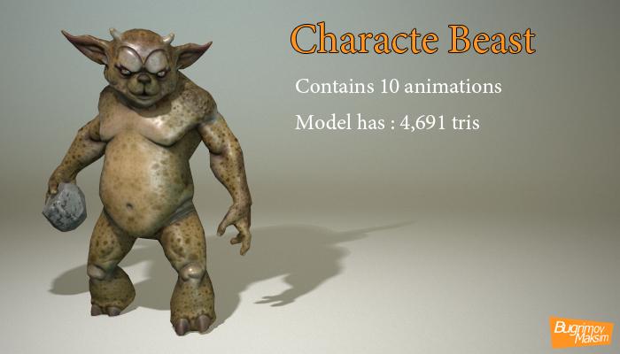 Character beast