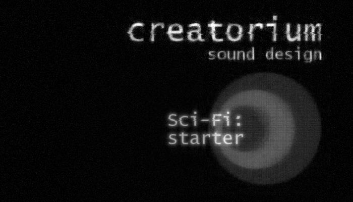 Creatorium soundbanks – Sci-fi: starter