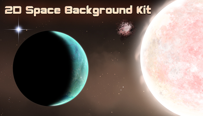 Space Background Kit