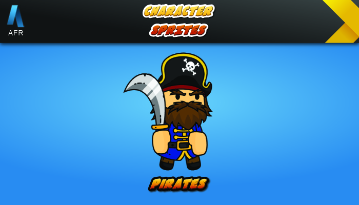 AFR Character Sprites – Pirates