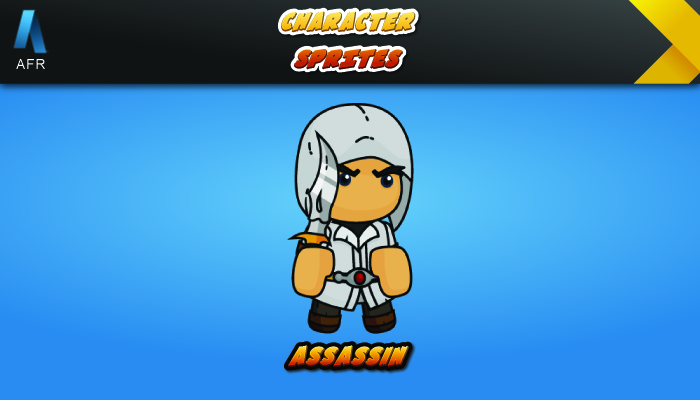 AFR Character Sprites – Assassin