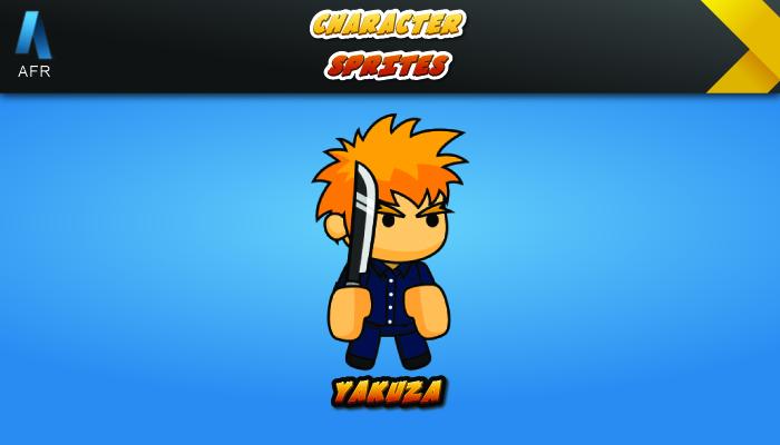 AFR Character Sprites – Yakuza