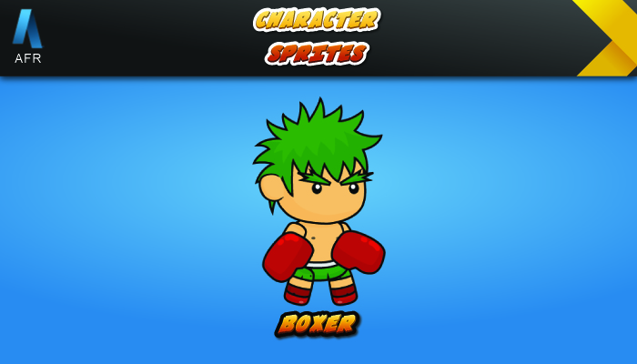 AFR Character Sprites – Boxer