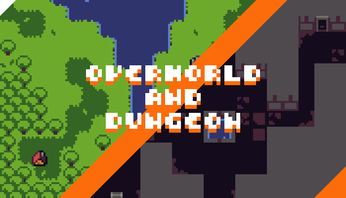 Micro Tileset – Overworld and Dungeon