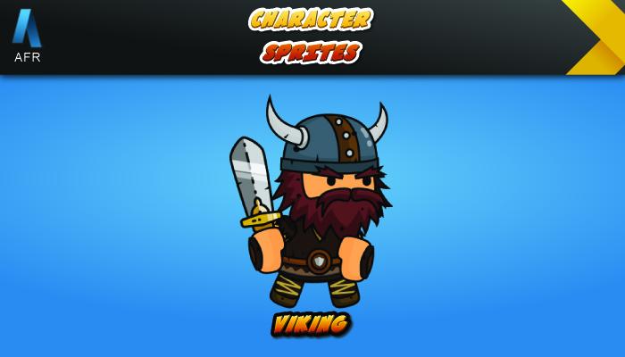 AFR Character Sprites – Viking
