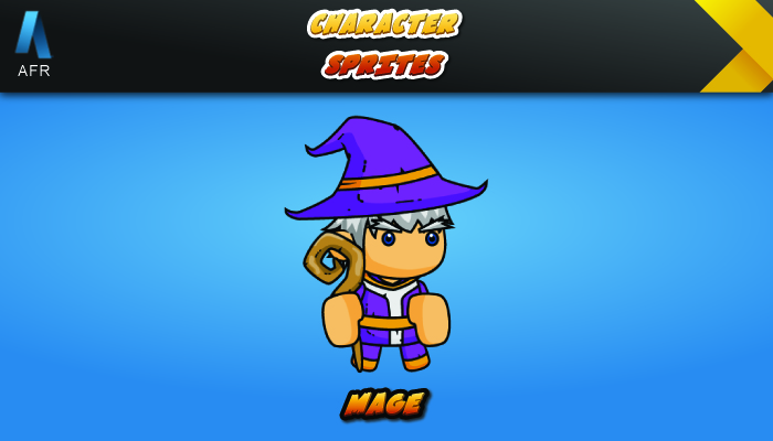 AFR Character Sprites – Mage