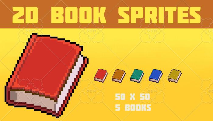 Book Sprite Set
