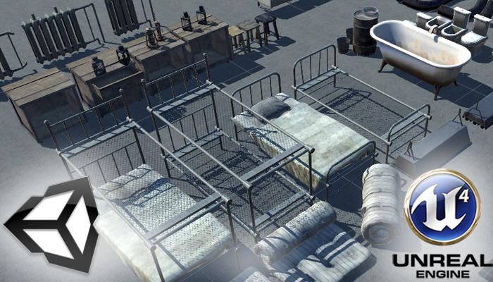 Urban Interior Props Pack