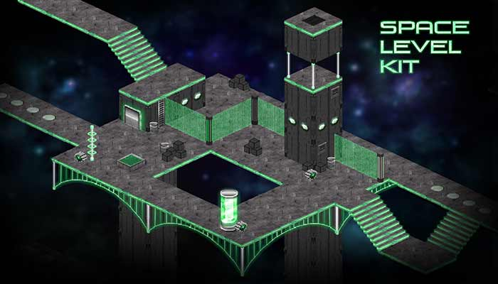 Isometric Space Dungeon