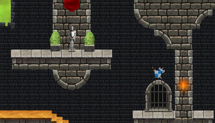 Platformer Tileset 8: Fortified Castle