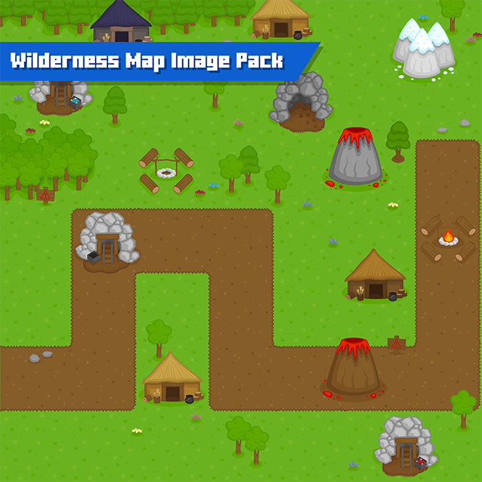 Wilderness Map Image Pack