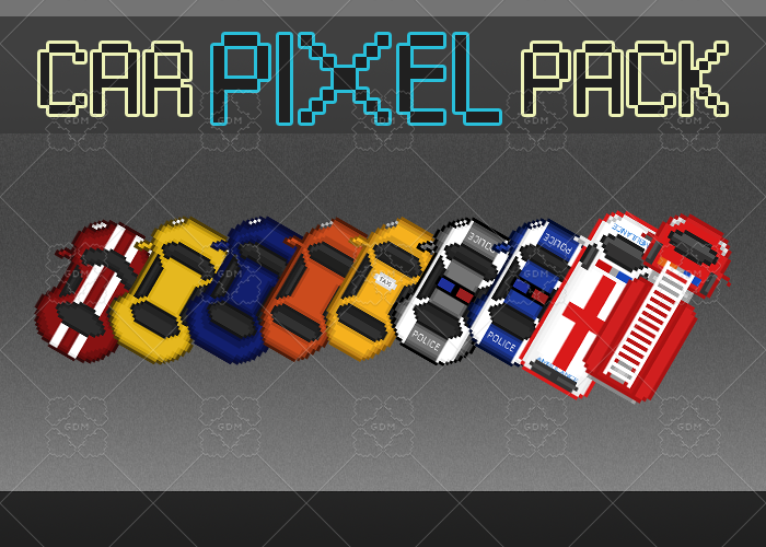 Pixel Car Pack