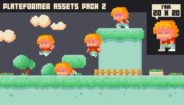 Plateformer assets pack 2