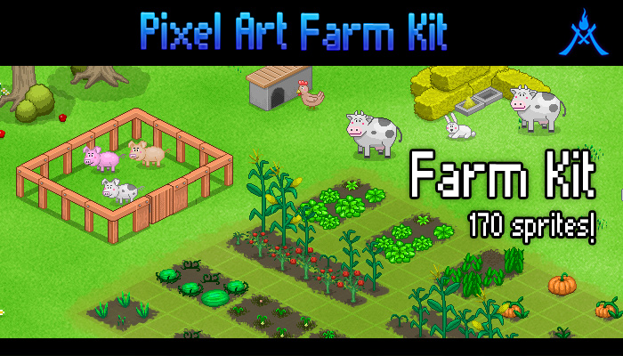 Pixel Art Farm Kit