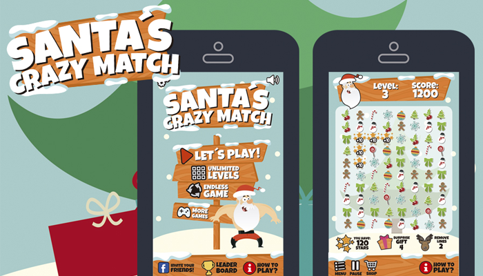 Christmas Match 3 Style Game Assets