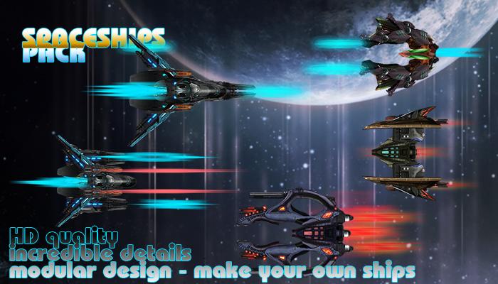 Space Ships Kit