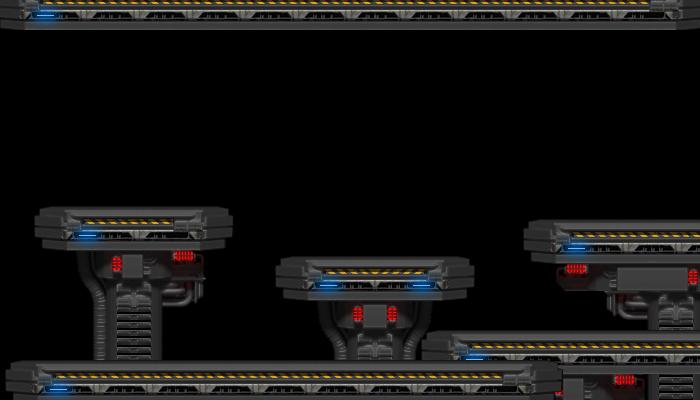 SciFi Platform set 01