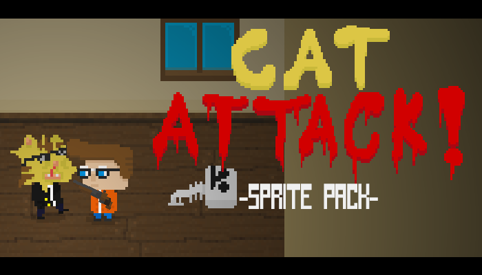 Cat Attack Sprite Pack
