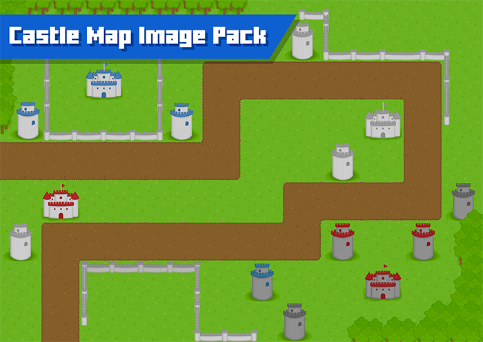 Castle Map Image Pack
