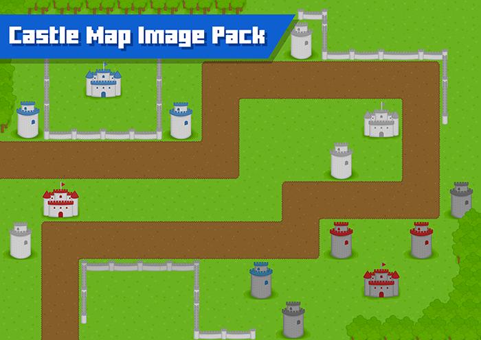 Castle Map Image Pack