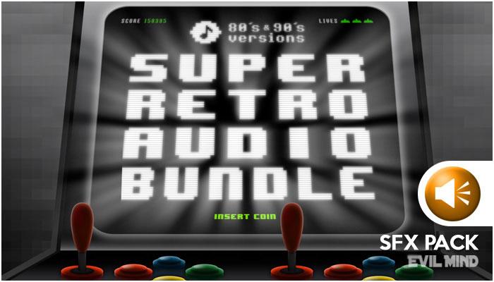 Super Retro – SFX Pack