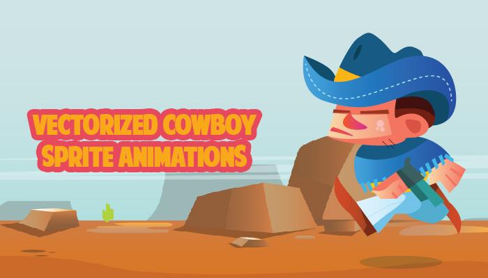 Cowboy Vector Spritesheet