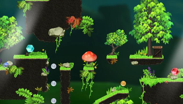 Magic Forest – Platform Game Tileset