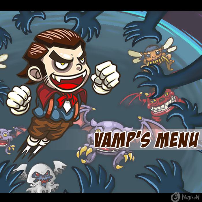 Vamp's Menu