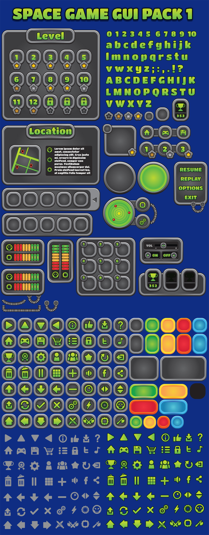 Space Game GUI