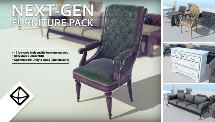 Next-gen furniture pack