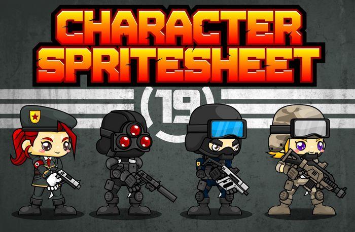 Characters Spritesheet 19