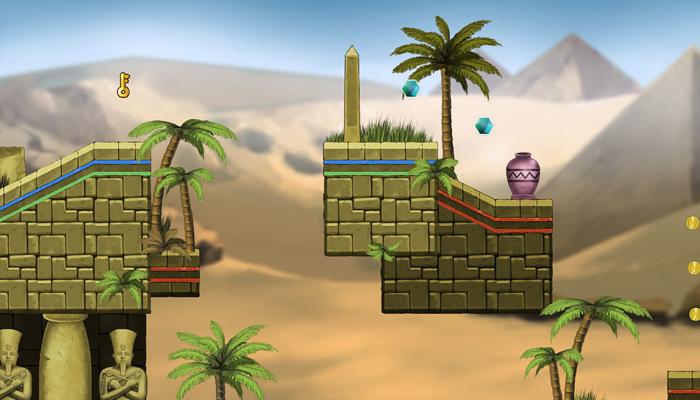 Egyptian Temple – Platform Tileset