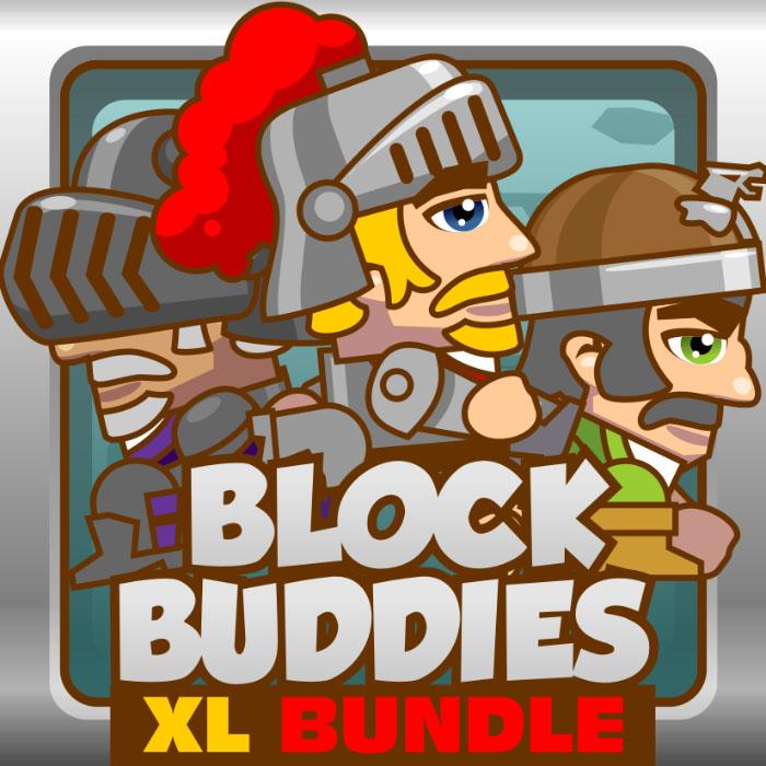 BlockBuddies – Knights XL Bundle