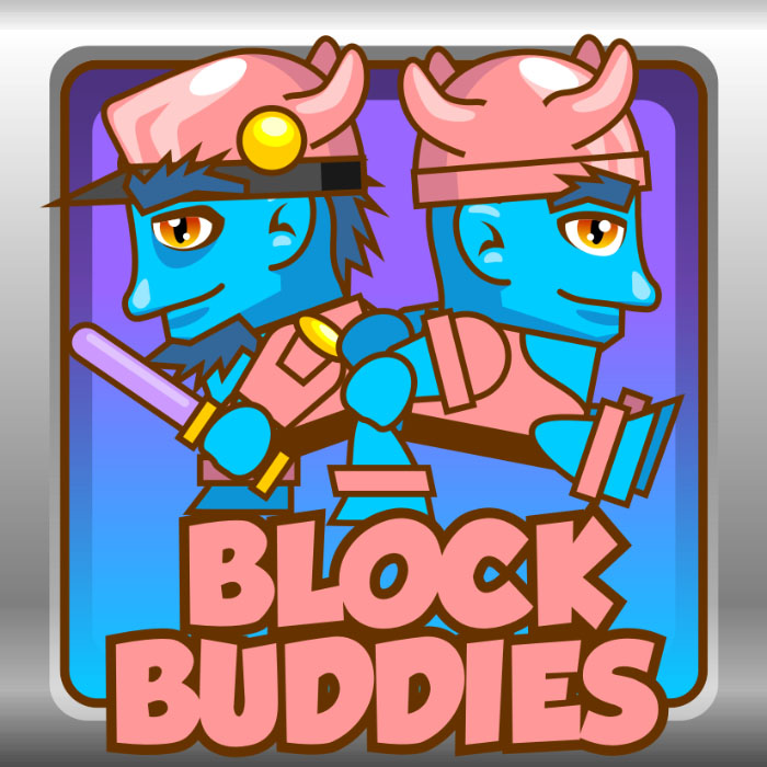 Block Buddies – Blue Aliens