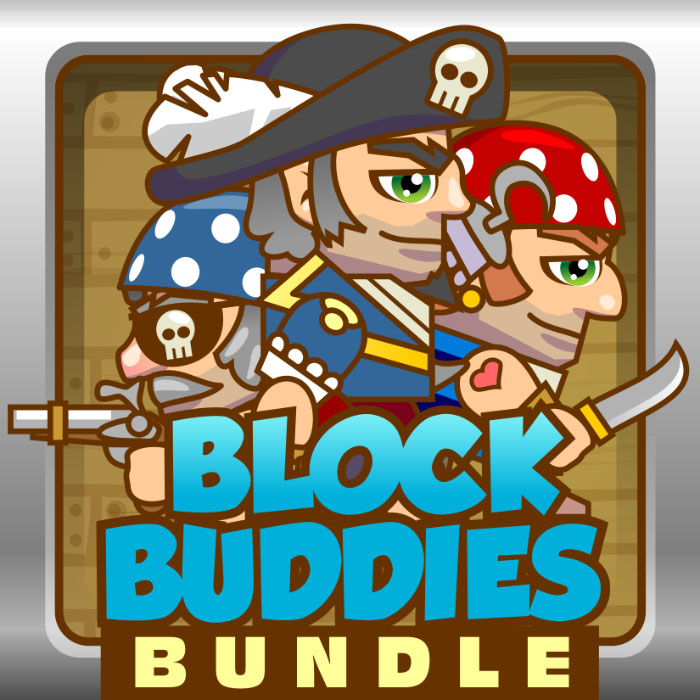 BlockBuddies – Pirate Bundle