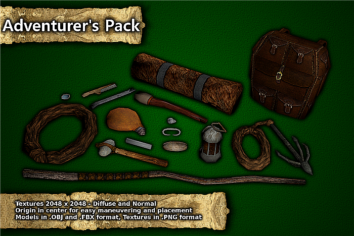 Medieval Basic Adventurer Pack