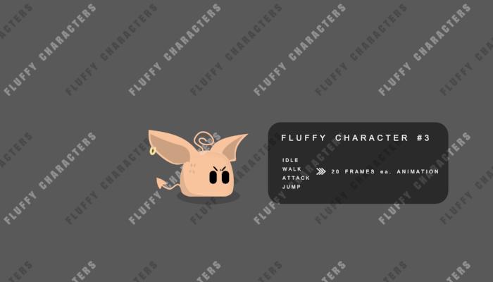 Weird but Fluffy Character III