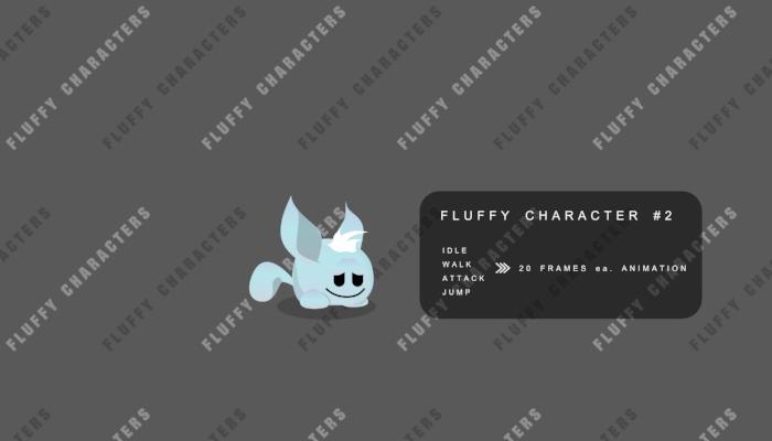 Weird but Fluffy Character II
