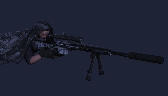 Urban Camo Sniper